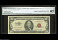 Small Size:Legal Tender Notes, Fr. 1550 $100 1966 Legal Tender Note. CGA Choice ...