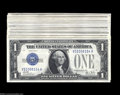 Small Size:Silver Certificates, Fr. 1602 $1 1928B Silver Certificates.