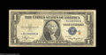 """Small Size:Silver Certificates, Fr. 1609* $1 1935A """"R"""" Silver Certificate. About Fine."""
