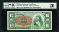 Military Payment Certificates:Series 591, Series 591 $10 Replacement First Printing PMG Very Fine 20.. ...
