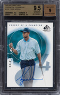Golf Cards:General, 2002 Upper Deck SP Game Used Edition Tiger Woods (Course o...