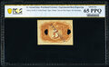 Fractional Currency:Second Issue, Milton 2E5R.1f 5¢ Second Issue Experimental PCGS Banknote Gem Unc 65 PPQ.. ...