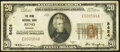 National Bank Notes:Nevada, Reno, NV - $20 1929 Ty. 1 The Reno National Bank Ch. # 8424 Fine-Very Fine.. ...
