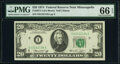Small Size:Federal Reserve Notes, Fr. 2071-I $20 1974 Federal Reserve Note. PMG Gem Uncircul...