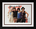 """Music Memorabilia:Photos, The Rolling Stones Limited Edition """"A Bigger Bang Tour"""" Giclee Print From Hulton Archive...."""