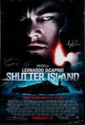 Movie/TV Memorabilia:Autographs and Signed Items, Shutter Island Cast and Crew Signed 1-Sheet Poster (Paramount, 2010). ...