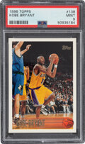 Basketball Cards:Singles (1980-Now), 1996 Topps Kobe Bryant #138 PSA Mint 9. An almost-...