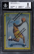 Basketball Cards:Singles (1980-Now), 1996 Topps Finest Kobe Bryant (Heirs) #269 BGS NM-MT 8...
