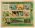 Movie/TV Memorabilia:Autographs and Signed Items, The Incredible Shrinking Man lobby c...