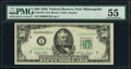 Fr. 2107-I $50 1950 Federal Reserve Note. PMG About Uncirculated 55