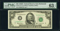 Small Size:Federal Reserve Notes, Fr. 2111-E* $50 1950D Federal Reserve Star Note. PMG Choic...