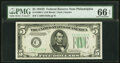 Small Size:Federal Reserve Notes, Fr. 1960-C $5 1934D Federal Reserve Note. PMG Gem Uncirculated 66 EPQ.. ...