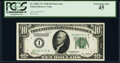 Small Size:Federal Reserve Notes, Fr. 2000-A* $10 1928 Federal Reserve Star Note. PCGS Extre...