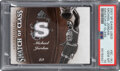 Basketball Cards:Singles (1980-Now), 2007 SP Game Used Swatch of Class Michael Jordan #SC-MJ PS...