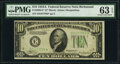 Small Size:Federal Reserve Notes, Fr. 2006-E* $10 1934A Federal Reserve Note. PMG Choice Unc...