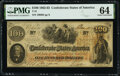 Confederate Notes:1862 Issues, T41 $100 1862 PF-10 Cr. 315A PMG Choice Uncirculated 64.. ...