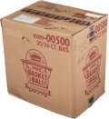 Basketball Cards:Unopened Packs/Display Boxes, 1990 Fleer Basketball Unopened Wax Case With Twenty, 36-Count Boxes. ...