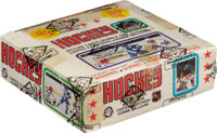 1979 O-Pee-Chee Hockey Wax Box With 48 Unopened Packs - Gretzky Rookie Year!