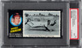 Baseball Cards:Singles (1970-Now), 1971 Topps Brooks Robinson Greatest Moments #9 PSA NM 7.