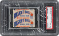Basketball Cards:Unopened Packs/Display Boxes, 1948 Bowman Basketball Unopened Wax Pack PSA NM-MT 8 - Only Two Graded Examples! ...