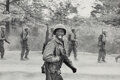 Photographs, Elliott Erwitt (American, 1928). Soldier, New Jersey, 1951. Gelatin silver print, printed later. 6-3/8 x 9-1/2 inches (1...