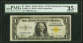 Small Size:World War II Emergency Notes, Fr. 2306* $1 1935A North Africa Silver Certificate Star. P...