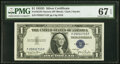 Small Size:Silver Certificates, Fr. 1613N $1 1935D Narrow Silver Certificate. PMG Superb G...