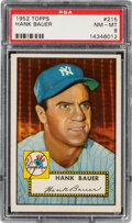 Baseball Cards:Singles (1950-1959), 1952 Topps Hank Bauer #215 PSA NM-MT 8. Offered is...