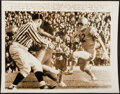 Football Collectibles:Others, College Football Legends Vintage Photographs and Prints, Lot of 4....