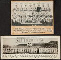 Baseball Collectibles:Photos, Vintage Baseball Photographs, Lot of 6. Offered is...