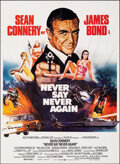 """Movie Posters:James Bond, Never Say Never Again (Warner Bros., 1983). Folded, Very Fine+. Swedish One Sheet (24.25"""" X 33.5"""") & Danish Poster (17"""" X 23... (Total: 2 Items)"""