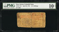 Colonial Notes:New Jersey, New Jersey April 23, 1761 15s PMG Very Good 10 Net.