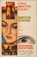 """Movie Posters:Drama, Storm Center & Other Lot (Columbia, 1956). Folded, Very Fine-. One Sheets (2) (27"""" X 41""""), Lobby Card (11"""" X 14"""") & Color Ph... (Total: 4 Items)"""