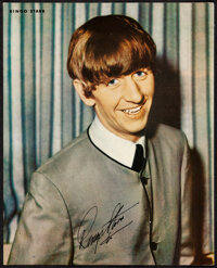 """The Beatles Promo Items (1960s). Very Fine+. Color Photo (8"""" X 10""""), Candid Photos (16) (3.5"""" X 5"""")..."""