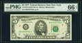 Small Size:Federal Reserve Notes, Fr. 1974-C $5 1977 Federal Reserve Note. PMG Gem Uncircula...