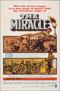 """Movie Posters:Drama, The Miracle & Other Lot (Warner Bros., 1959). Folded, Fine/Very Fine. One Sheets (2) (27"""" X 41""""). Drama.. ... (Total: 2 Items)"""