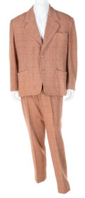 Movie/TV Memorabilia:Costumes, Broderick Crawford Suit Used for Publicity Appearances and Material (ca. 1940s-1950s). ...