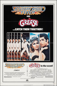 """Saturday Night Fever/Grease Combo & Other Lot (Paramount, 1979). Folded, Very Fine. One Sheets (2) (27"""" X 41&qu..."""
