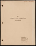 """Movie Posters:Comedy, The Abbott and Costello Show (CBS, 1951). Fine/Very Fine. Television Script (41 Pages, 8.5"""" X 11""""). Comedy.. ..."""