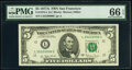 Small Size:Federal Reserve Notes, Fr. 1975-L $5 1977A Federal Reserve Note. PMG Gem Uncircul...