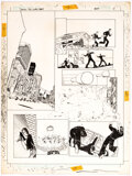 """Original Comic Art:Story Page, Marshall Rogers DC Science Fiction Graphic Novel #5 """"Demon with a Glass Hand"""" Story Pages 4 & 14 Original Art (DC,... (Total: 2 Original Art)"""