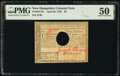 Colonial Notes:New Hampshire, New Hampshire April 29, 1780 $3 PMG About Uncirculated 50....