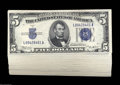 Small Size:Silver Certificates, Fr. 1652 $5 1934B Silver Certificates. 50 Examples. Choice ... (50 notes)