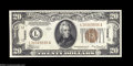Small Size:World War II Emergency Notes, Fr. 2305 $20 1934A Hawaii Federal Reserve Note. Crisp ...