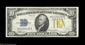 Small Size:World War II Emergency Notes, Fr. 2309* $10 1934A North Africa Silver Certificate. Choice ...