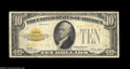 Small Size:Gold Certificates, Fr. 2400* $10 1928 Gold Certificate. Fine.