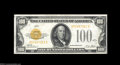 Small Size:Gold Certificates, Fr. 2405 $100 1928 Gold Certificate. Choice About ...
