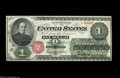 Large Size:Legal Tender Notes, Fr. 16 $1 1862 Legal Tender Note Very Choice New. A ...