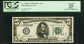 Small Size:Federal Reserve Notes, Fr. 1950-I* $5 1928 Federal Reserve Star Note. PCGS Appare...