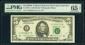 Small Size:Federal Reserve Notes, Fr. 1981-L $5 1988A Federal Reserve Note. PMG Gem Uncircul...